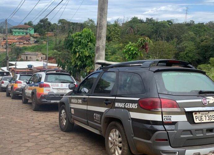 Dupla é presa em flagrante por homicídio em Barão de Cocais - Foto: Divulgação/PCMG