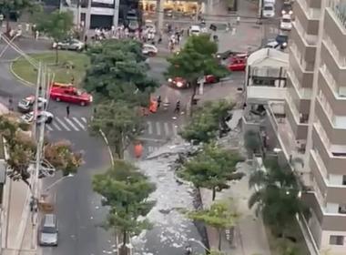 Motorista de caminhão morre após veículo invadir centro comercial no Buritis, em BH - Foto: Marcel Garcia/Arquivo pessoal