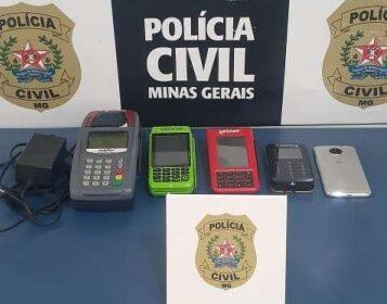 Polícia identifica suspeito de furtos praticados no centro de Campo Belo - Foto: Divulgação/PCMG