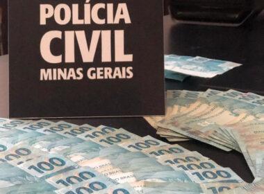 Polícia apura desvio de quase meio milhão em Conselheiro Lafaiete - Foto: Divulgação/PCMG