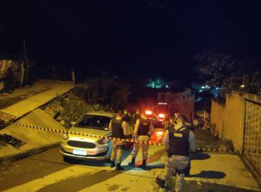 Motorista de aplicativo é executado a tiros em Santa Luzia - Foto: Polícia Militar/Divulgação