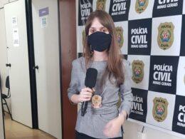 Delegada Ludmila Carneiro responsável pelo caso - Foto: Divulgação/PCMG