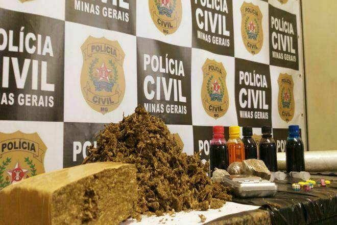 Polícia deflagra operação e prende suspeito por tráfico em Juiz de Fora - Foto: Divulgação/PCMG