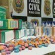 Polícia apreende 300 comprimidos de ecstasy e anabolizantes em Juiz de Fora - Foto: Divulgação/PCMG