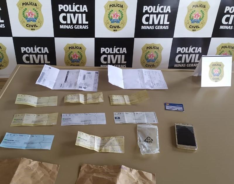 Homem é preso por fraudes e corrupção ativa em Divinópolis - Foto: Divulgação/PCMG