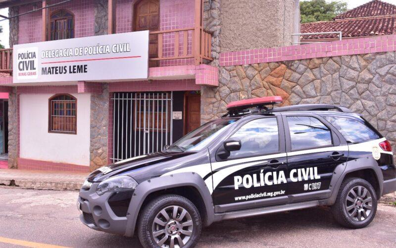 Polícia prende suspeito de envenenar companheira em Mateus Leme - Foto: Divulgação/PCMG
