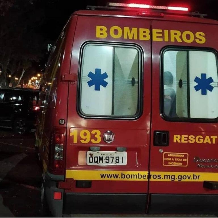 Bebê de seis dias que engasgou com amamentação é salvo pelos Bombeiros de Guaxupé - Foto: Divulgação/Corpo de Bombeiros