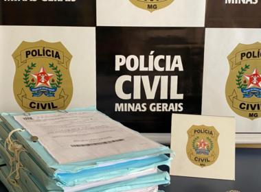 Polícia indicia quatro pessoas por lavagem de dinheiro em golpes em Frutal - Foto: Divulgação/PCMG
