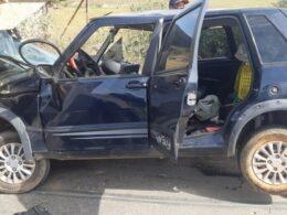 Quatro pessoas ficam feridas em acidente na BR-262, em Bom Despacho - Foto: PRF/Divulgação