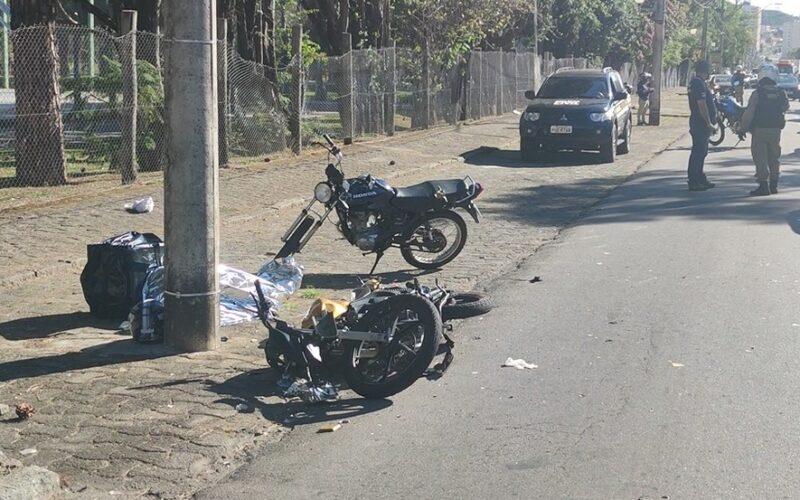 Motociclista morre após batida entre duas motos em Poços de Caldas - Foto: Marcos Corrêa