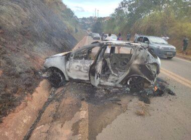 Mãe e filho morrem atropelados por motorista embriagado em Santa Maria de Itabira - Foto: Fabiano Palauro/Fatos de Minas