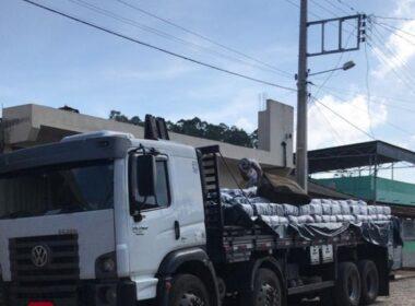 Polícia prende suspeitos por desviar cargas em Manhumirim - Foto: Divulgação/PCMG