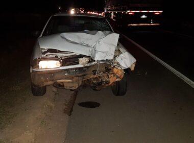Motociclista morre em acidente na BR-262, em Nova Serrana - Foto: PRF/Divulgação