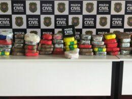 Polícia apreende mais de 50 quilos de crack em Divinópolis - Foto: Divulgação/PCMG
