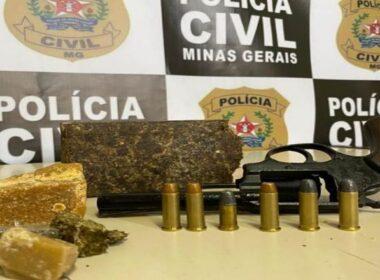 Polícia prende três suspeitos por tráfico durante operação em Juiz de Fora - Foto: Divulgação/PCMG