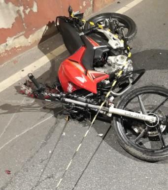 Polícia procura motorista que fugiu após acidente com morte em BH - Foto: Divulgação/PCMG