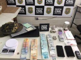 Polícia prende dupla suspeita de tráfico de drogas em Pará de Minas - Foto: Divulgação/PCMG