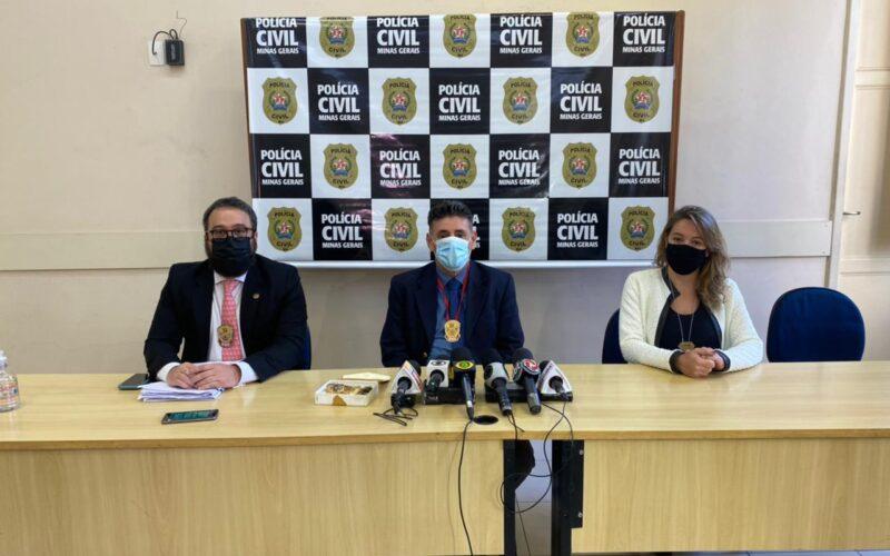 Delegado Guilherme Santos responsável pelo caso - Foto: Divulgação/PCMG