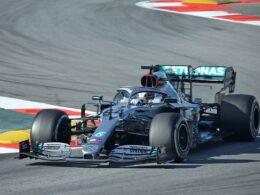 Hamilton é o segundo colocado na classificação geral da F1 – Fonte: Wikimedia
