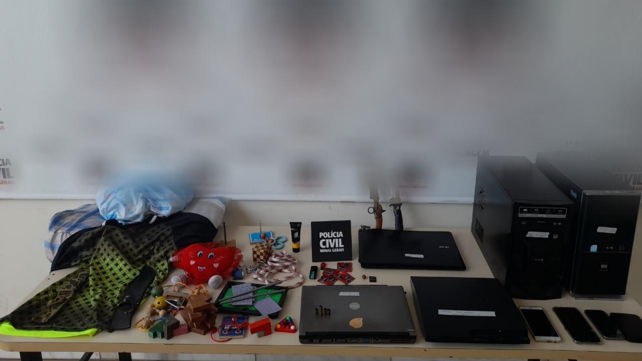 Padrinho é suspeito de abuso sexual de criança em Contagem - Foto: Divulgação/PCMG
