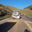 Onze pessoas ficam feridas em acidente entre micro-ônibus e caminhão na BR-356, em Muriaé - Foto: Divulgação/CBMMG