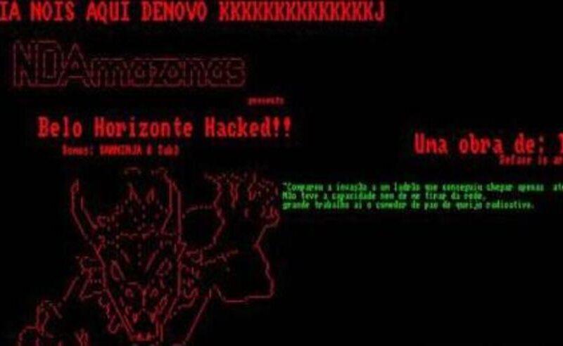Site da Prefeitura Belo Horizonte sofre novo ataque de hacker - Foto: Reprodução