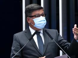 Senador Carlos Viana é internado com Covid-19 e afirma: 'Nada grave' - Foto: Waldemir Barreto/Agência Senado