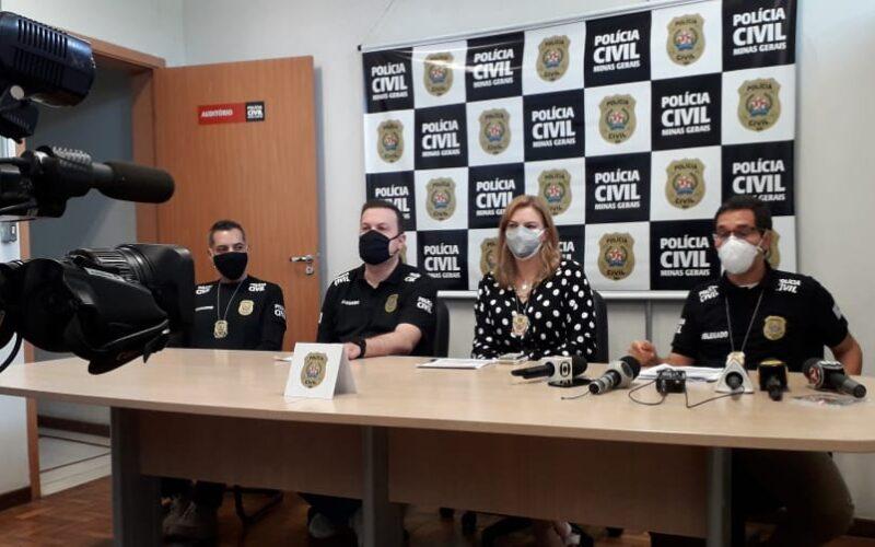 Suspeito de liderar facção criminosa é preso por homicídio em Belo Horizonte - Foto: Divulgação/PCMG