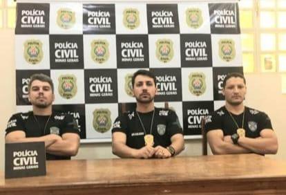 Suspeito de estuprar criança de 4 anos é preso em Santa Maria do Suaçuí - Foto: Divulgação/PCMG