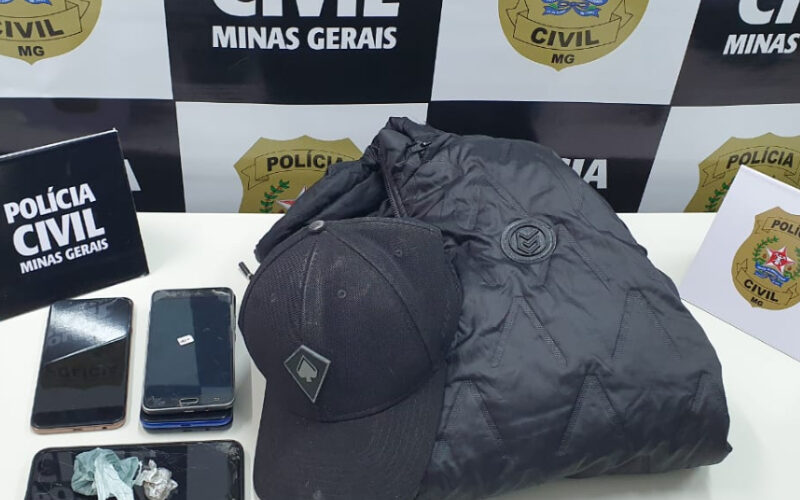 Polícia Civil prende trio suspeito de latrocínio tentado em Guaxupé - Foto: Divulgação/PCMG