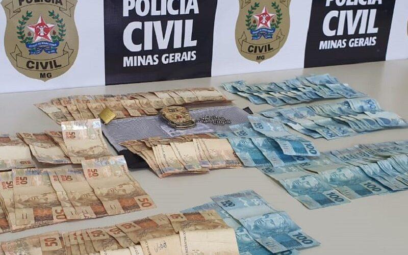 Polícia conclui investigação que apurou furto em sacolão em Lagoa Santa - Foto: Divulgação/PCMG