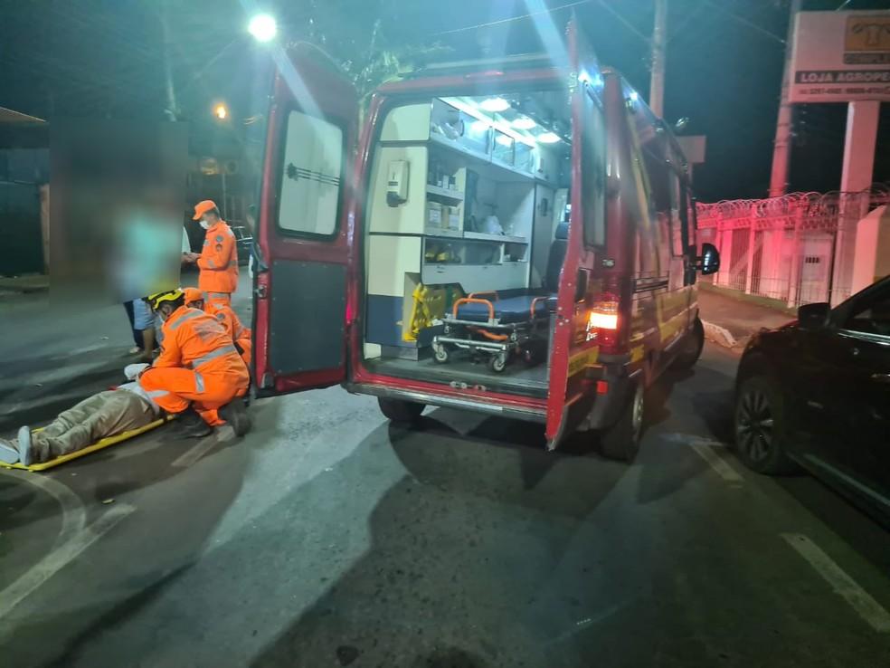 Motociclista fica ferido em estado grave ao ser atingido por linha de cerol em Contagem - Foto: TransCon/Divulgação