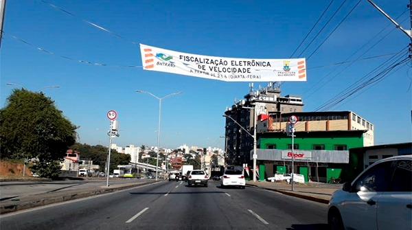 Oito equipamentos de fiscalização eletrônica começam a operar em Belo Horizonte - Foto: Divulgação/BHTrans