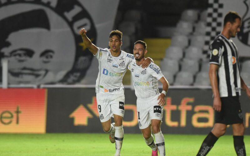 Santos vence Atlético-MG por 2 a 0 na Vila Belmiro pelo Brasileirão - Foto: Ivan Storti/Santos FC