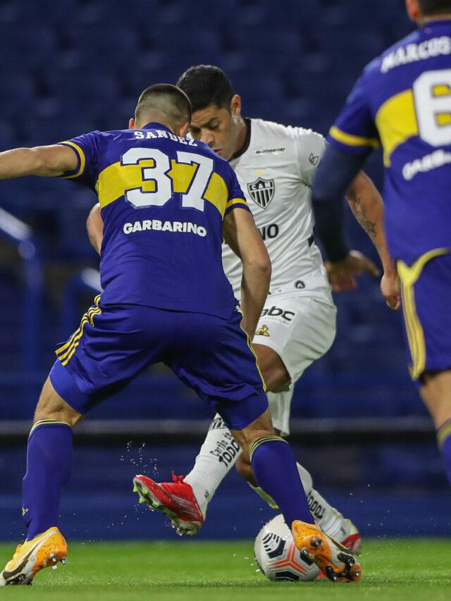 Atlético-MG empata com Boca Juniors na Bombonera