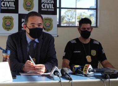 Delegado Rodrigo Otávio Rodrigues responsável pelo caso de denúncia de fraude em hospedagem no distrito de Macacos - Foto: Divulgação/PCMG