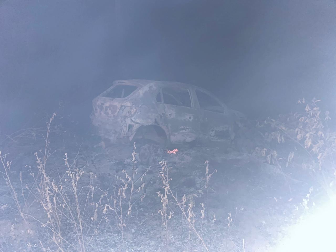 Homem morre em acidente entre moto e carro na LMG-633, em Janaúba - Foto: Divulgação/CBMMG