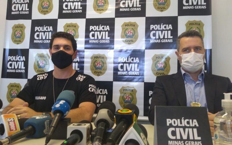 Delegado Luiz Otávio Matozinhos responsável pelo caso - Foto: Divulgação/PCMG