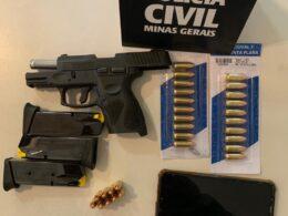 Polícia prende suspeitos de tripla tentativa de homicídio em Matozinhos - Foto: Divulgação/PCMG
