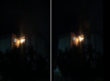 Incêndio em apartamento deixa três pessoas feridas em Belo Horizonte - Foto: Reprodução
