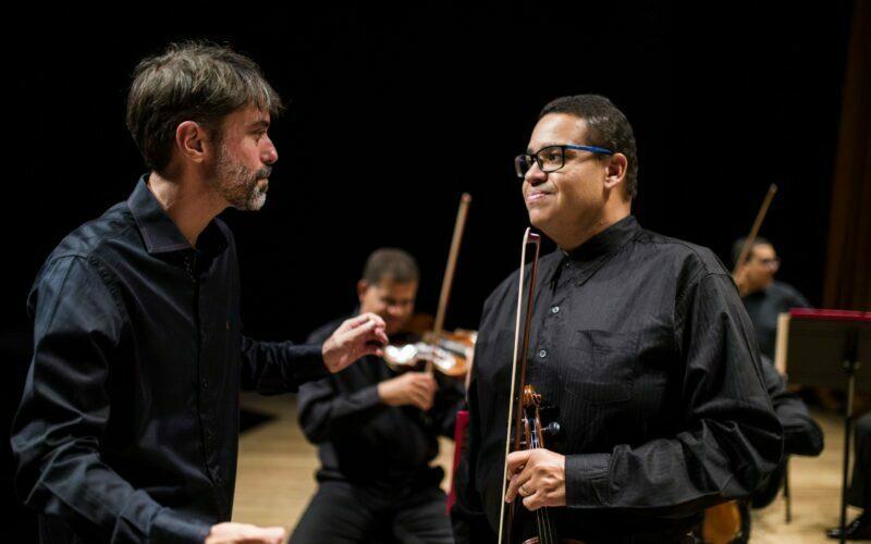 Maestro Felipe e William Barros - Foto: Divulgação/Rafael Motta