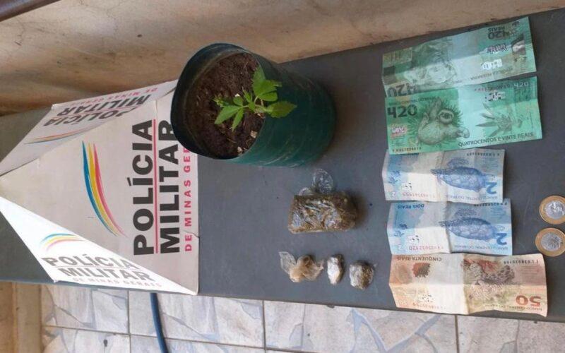 Idoso recebe nota de R$ 420 como pagamento de empréstimo em Unaí - Foto: Divulgação/PMMG