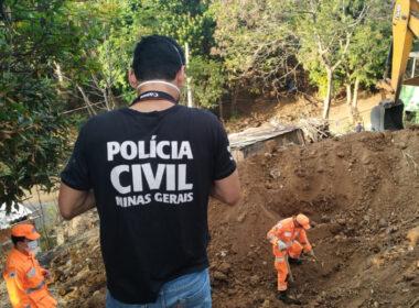 Polícia Civil localiza ossadas humanas em Governador Valadares - Foto: Divulgação/PCMG