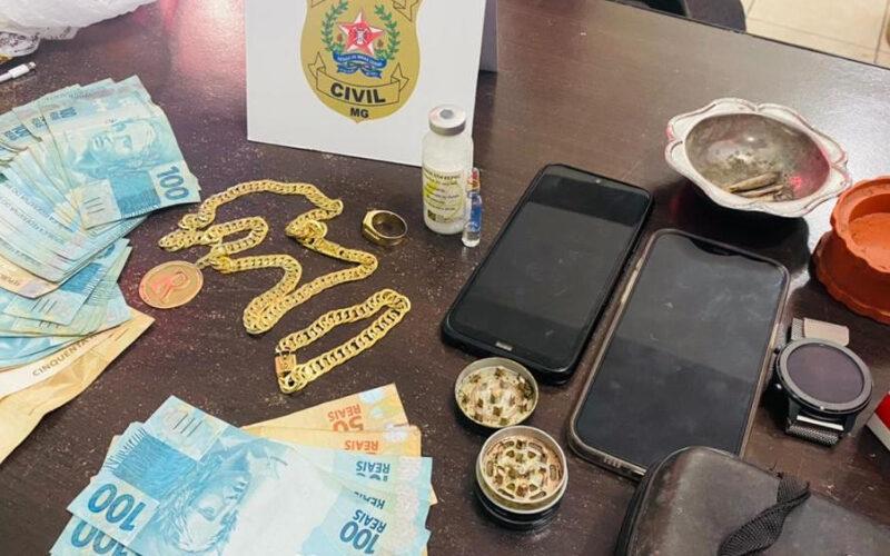 Homem é preso por crime de fraude em medicamento em Timóteo - Foto: Divulgação/PCMG