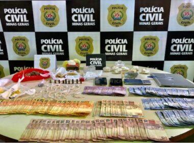 Polícia prende quatro pessoas por tráfico de drogas em Três Corações - Foto: Divulgação/PCMG