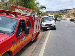 Ex-comandante de Batalhão da Polícia Militar morre em acidente na BR-116, em Teófilo Otoni - Foto: Victor Couy