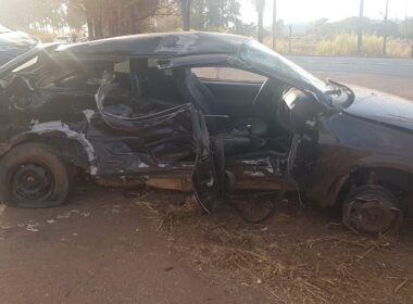 Idoso morre em acidente na BR-365, em Patrocínio - Foto: Polícia Rodoviária Federal/Divulgação