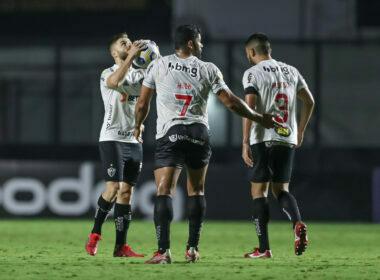 vAtlético busca empate com o Fluminense e aumenta vantagem na liderança - Foto: Pedro Souza/Atlético