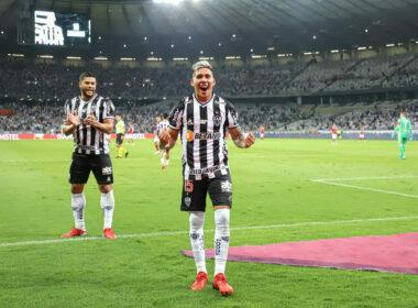 Zaracho marca duas vezes para o Galo - Foto: Clube Atlético Mineiro/Pedro Souza