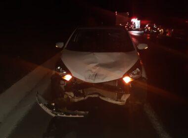 Cinco pessoas ficam feridas em acidente na BR-251, em Montes Claros - Foto: Polícia Rodoviária Federal/Divulgação